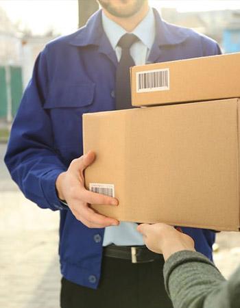 دریافت بسته پستی