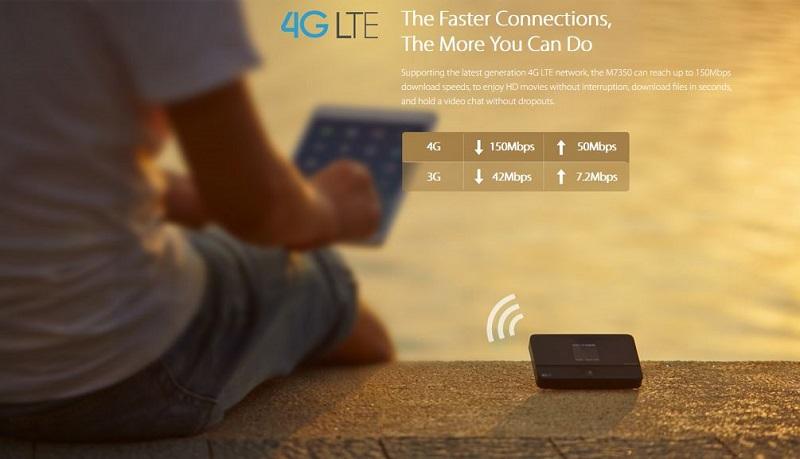 LTE-Advanced Mobile Wi-Fi M7350