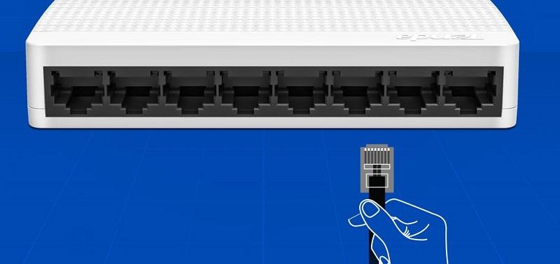 Tenda 8-Port 10/100 Switch S108