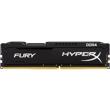 رم Kingston HyperX Fury 4GB DDR4 2400MHz CL15 Single Channel RAM HX424C15FB4